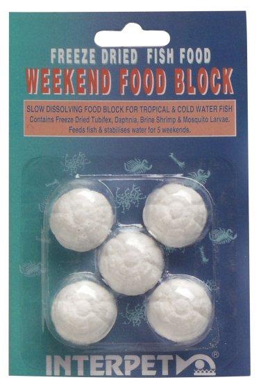 WEEKEND FOOD BLOCK