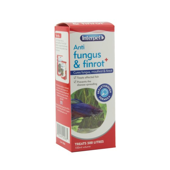 Anti Fungus & Finrot 100ml Plus
