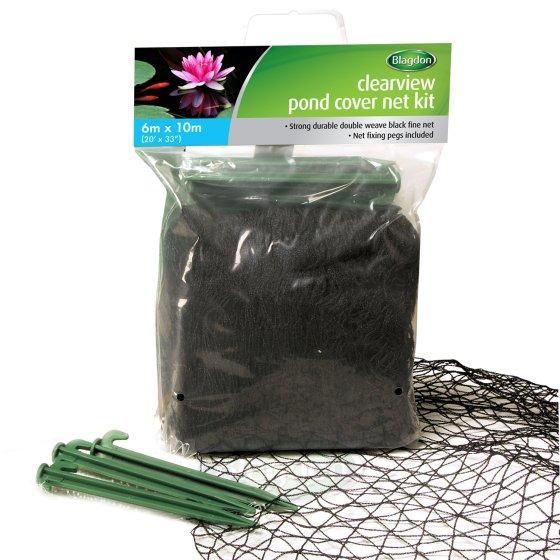 10 X 6m CLEARVIEW BLACK FINE